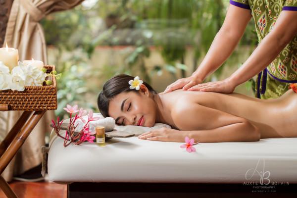 royal back massage